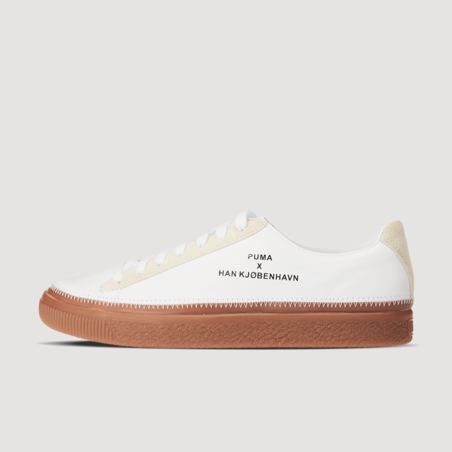 Clyde Stitched HAN (Puma White)
