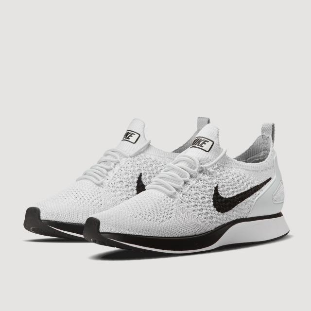 Air Zoom Mariah Flyknit Racer Shoe (PURE PLATINUM/WHITE)