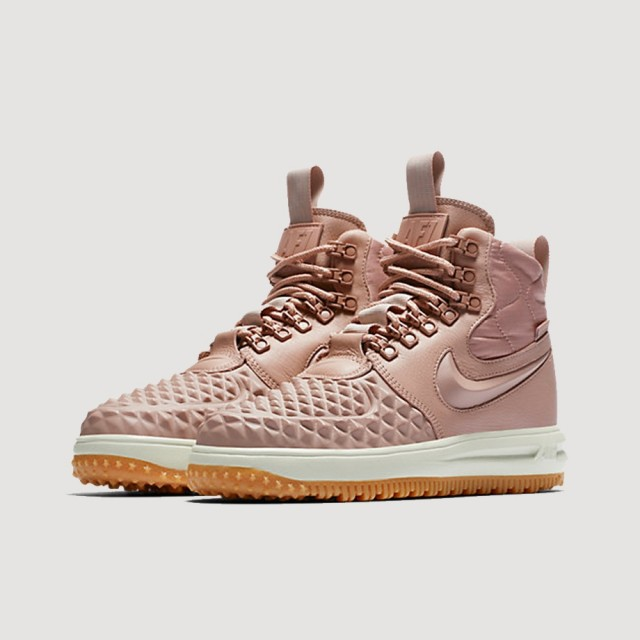 Lunar Force 1 Duckboot (PARTICLE PINK/PARTICLE PINK-BLACK)