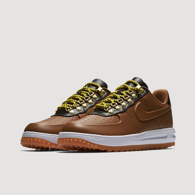 Lunar Force 1 Low Duckboot (ALE BROWN/ALE BROWN-BLACK-WHITE)